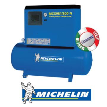 Michelin Pistonlu Depo Üstü Sessiz Kompresörler